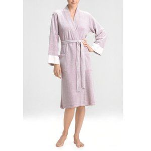 NWT Natori Nirvana Brushed Terry Bathrobe Robe - M